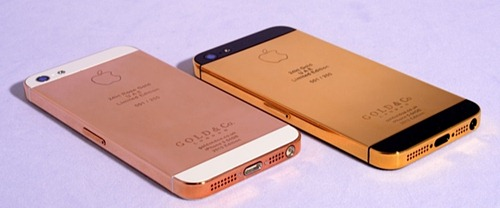 24kt Gold-Plated iPhone 5, Smarter Socks with iPhone App