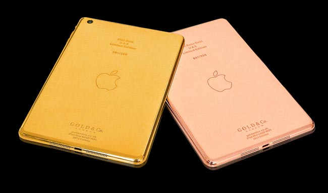 24kt Gold iPad Mini, Melotweet Musical Twitter App