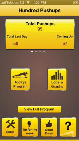 7 Awesome Push Up Apps for iPhone -