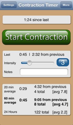 labor timer