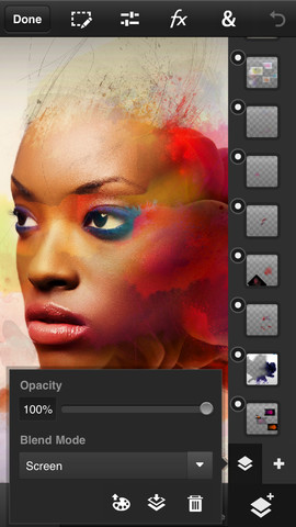 olloclip adapter for iPod Touch, Photoshop Touch for iPhone