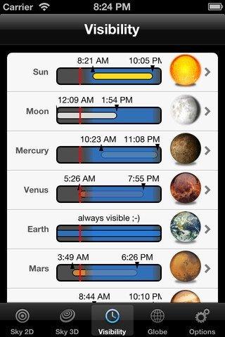 planets app