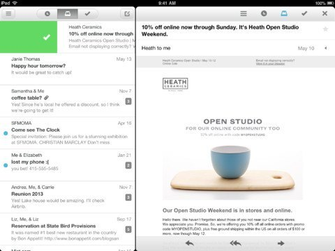 Mailbox Comes to iPad, Clear Up Next?