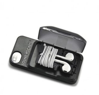 iPhone Case w/ Cable Management, ET Battery Pack with LED Flash Light