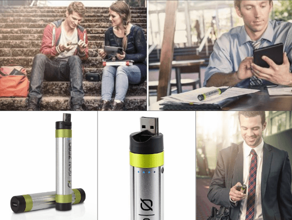 Goal Zero Solar Recharger, iBell Mini for iPhone