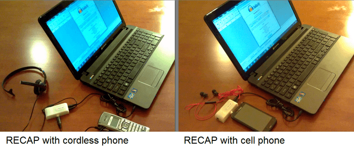 RECAP: Record iPhone Calls on PC, ScanDock iPhone Scanner