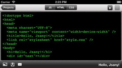 7 Awesome JavaScript Apps for iPhone & iPad -