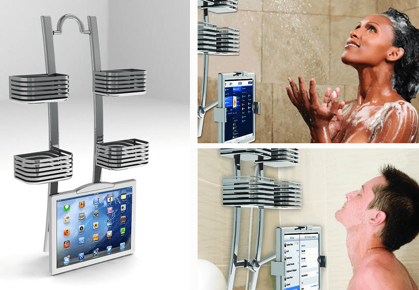 cheaper af8ce 4ce25 Use iPad In the Shower: 5 Bathroom Accessories -