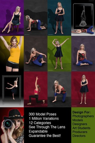 5 iPhone Posing Apps for Photography Posing ideas -