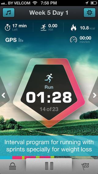 running weightloss