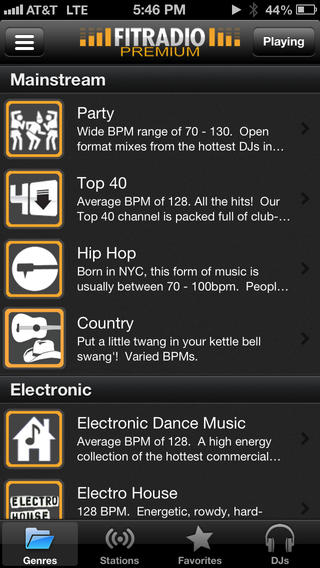 8 Workout Music Apps for iPhone -