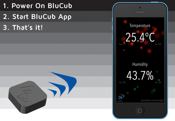 iphone temperature sensor blucub humidity sensor amp wireless thermometer for iphone 12369