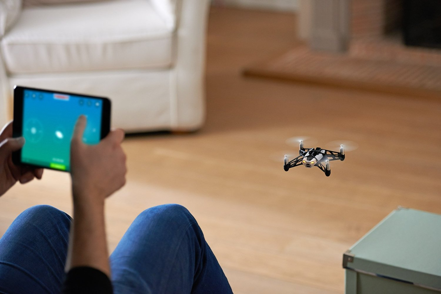 Parrot Minidrone Rolling Spider Ios Android Minidrones Spiders White