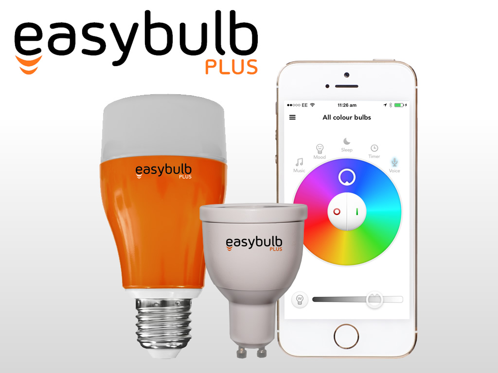 Easybulb Plus: iOS/Android Controlled Bulb + Voice Control -