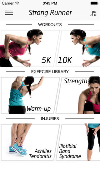 strong runner
