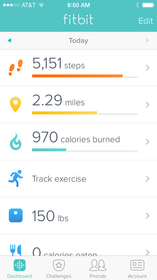 7 iPhone Apps for Fitbit Users -
