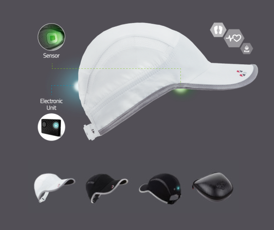 LifeBEAM HAT Tracks Workouts w/ Smartphone Support
