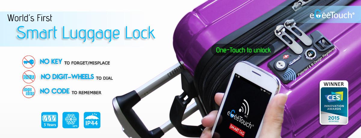 smart luggage lock