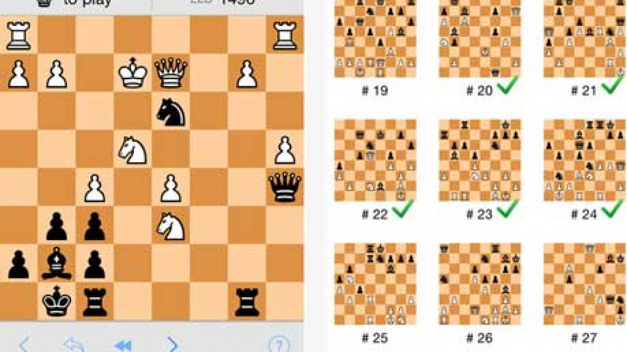 5 Chess Tactics Apps for iPhone -