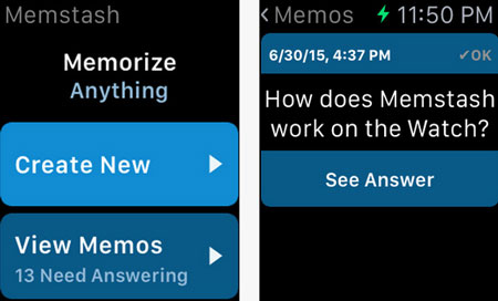 4 Flashcard Apps for Apple Watch -