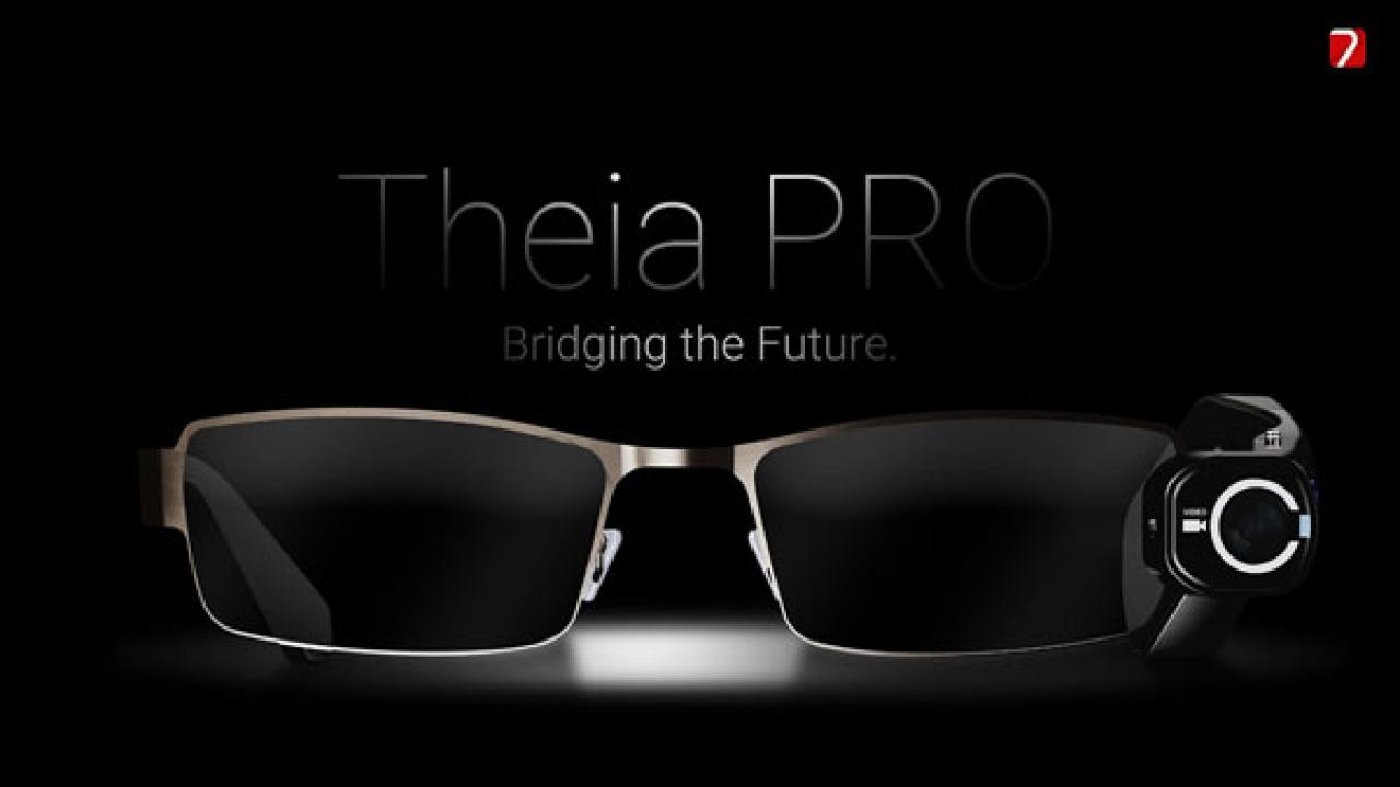 Theia Video Camera Glasses with Bluetooth Headset