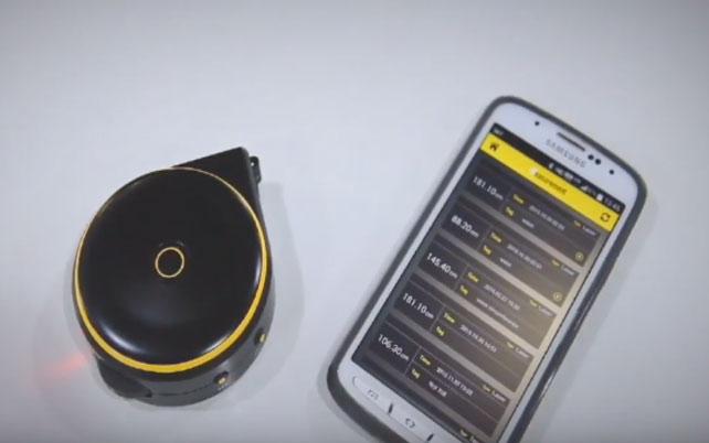 Bagel Smart App Enabled Tape Measure