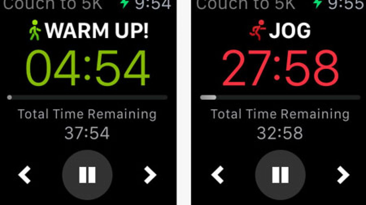 5 5k Training Apps For Apple Watch