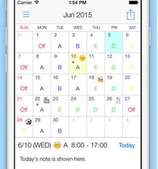Shift-Work-Calendar
