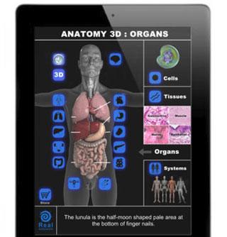 6 Interactive 3D Human Anatomy iPhone Apps -