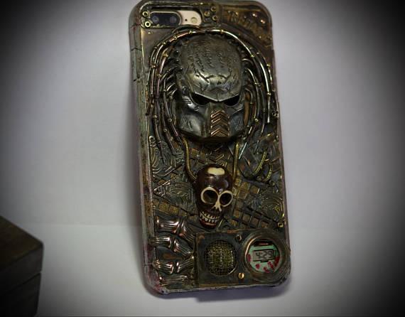 the best attitude 7ccc5 a01e1 Steampunk Predator Case for iPhone 7 Plus -