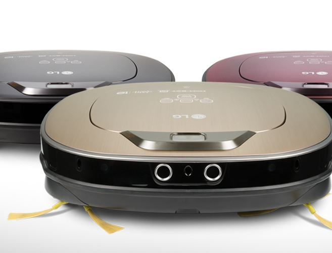 LG Hom-Bot Turbo+ Robot Vacuum Doubles As a Home Camera -