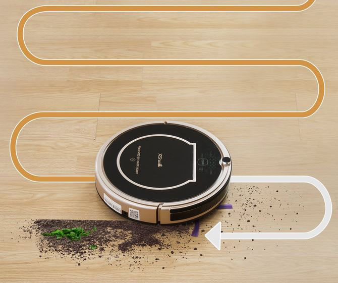 XShuai T370 Robot Vacuum with Alexa Voice Control -