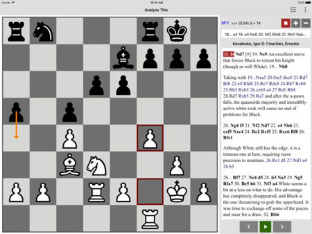 Analyze This Chess for iPhone with Stockfish Engine -