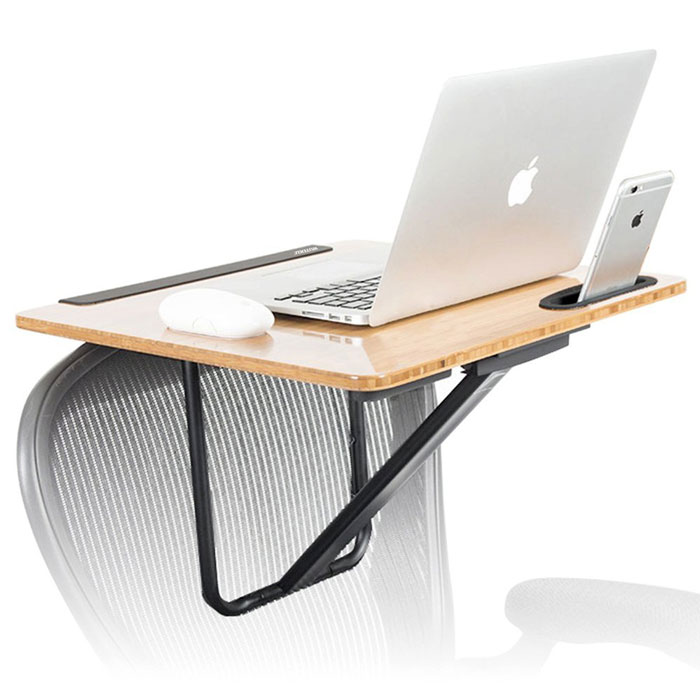 Superb Wuteku Turns Any Chair Into A Mobile Standing Desk Home Remodeling Inspirations Gresiscottssportslandcom