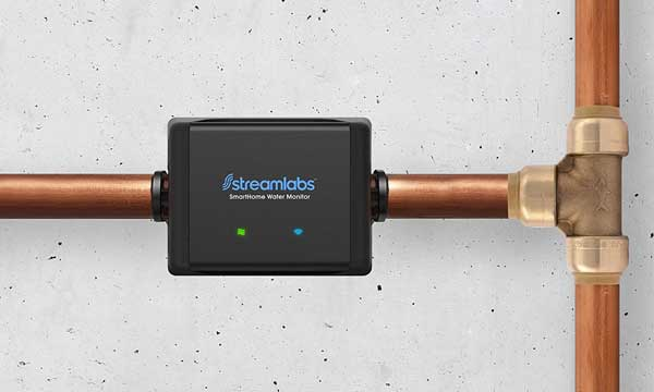 Streamlabs Water Monitor with WiFi & Alexa Integration -