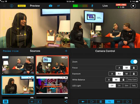 4 Must See iOS Apps for Multi-Camera Production -