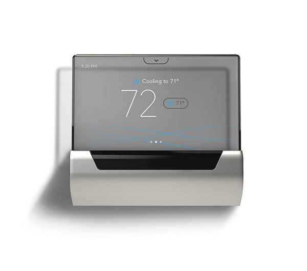 Glas Smart Thermostat with Translucent OLED Touchscreen