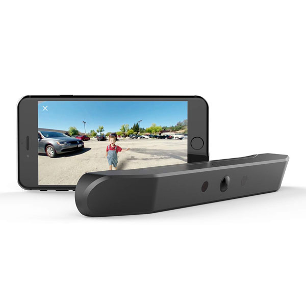 ZUS Smart Backup Camera with Real-time Smartphone Video -