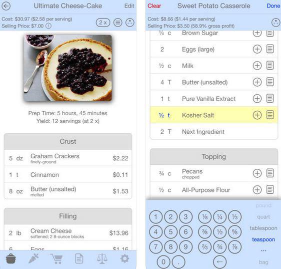 Salt & Pepper Recipe Manager for iOS -