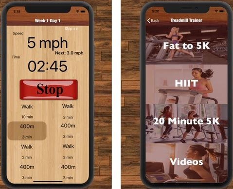 10 Awesome Treadmill Apps for iPhone -