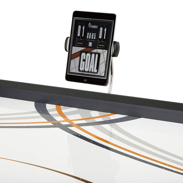 Atomic 7 5 Contour Air Hockey Table With Mobile Scoring