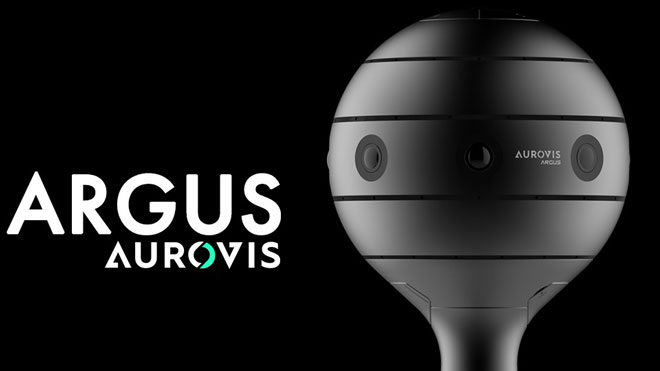 AUROVIS Argus 360° Spherical VR Camera with iOS/Android App -