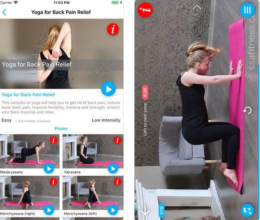 Back Pain Yoga App for iPhone & iPad -