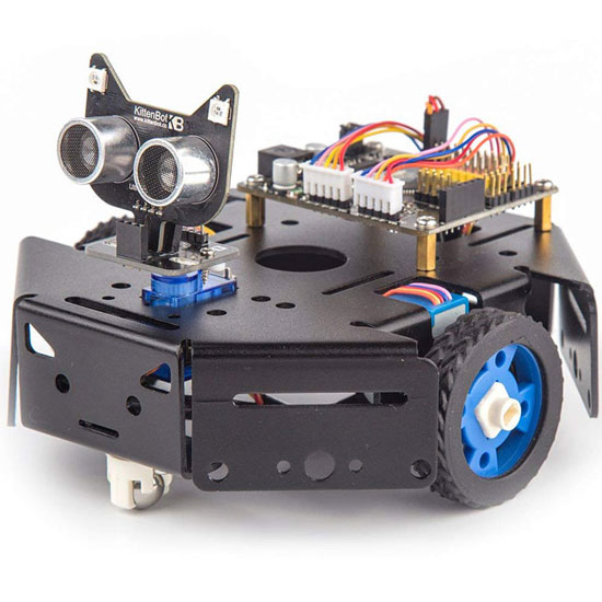 KittenBot: Python & Scratch Programmable Robot -