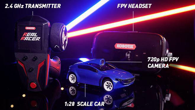Kobotix Real Racer: App Smart FPV Racing Car -