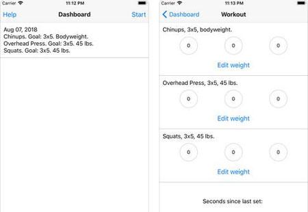 3 Greyskull LP Exercise Apps for Strength Training -