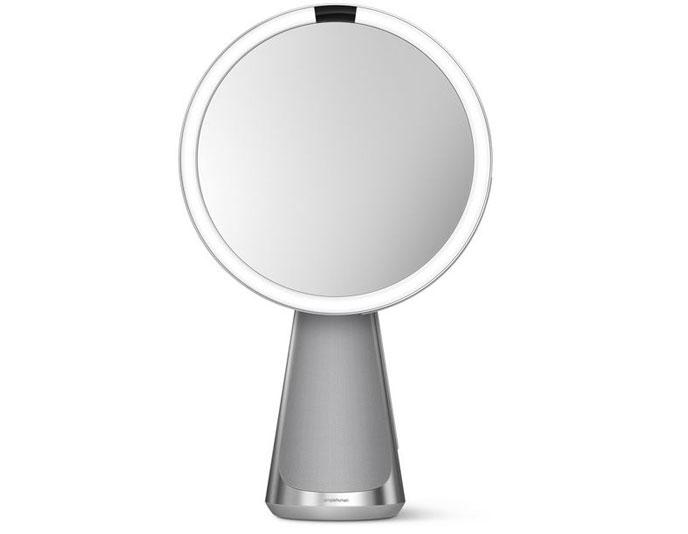 simplehuman Sensor Mirror Hi-Fi Assist: Smart Mirror That