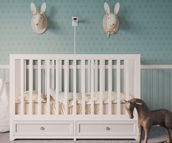 Miku AI Baby Monitor That Tracks Breathing & Sleep Patterns with No