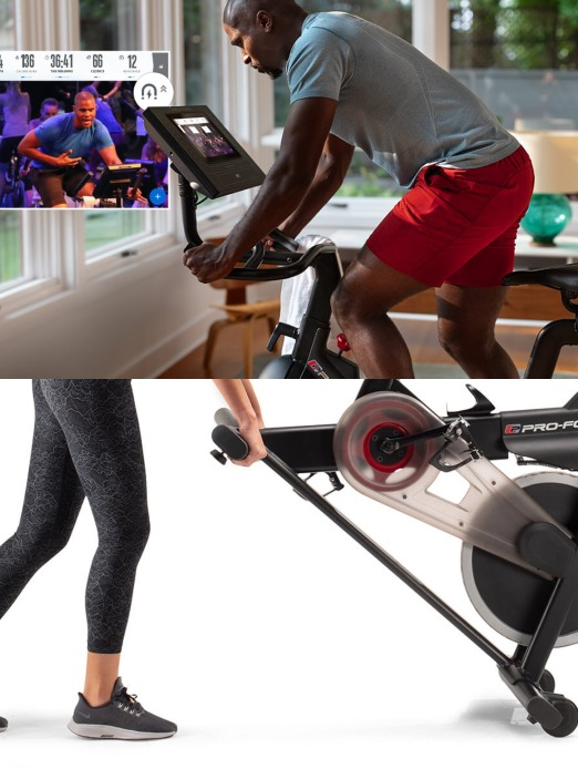 ProForm Cycle Trainer: Smart Exercise Bike with Live