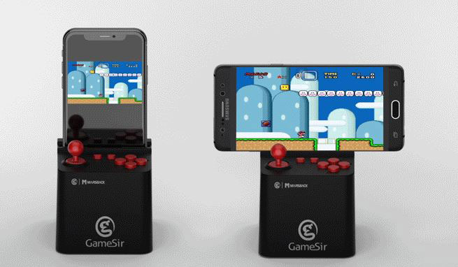 Marsback Turns Your iPhone Into a Mini Arcade with Classic